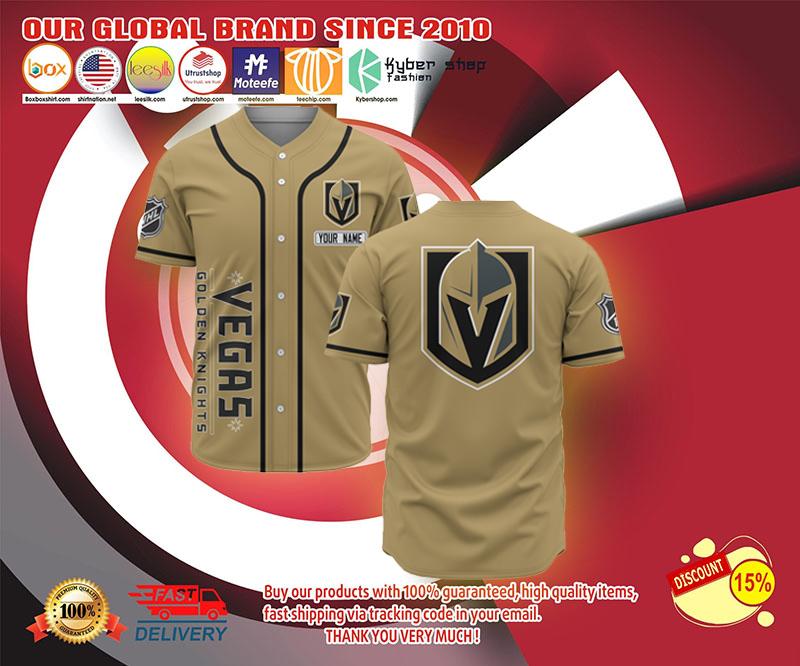 Vegas Golden Knights  baseball jersey shirt - LIMITED EDITION