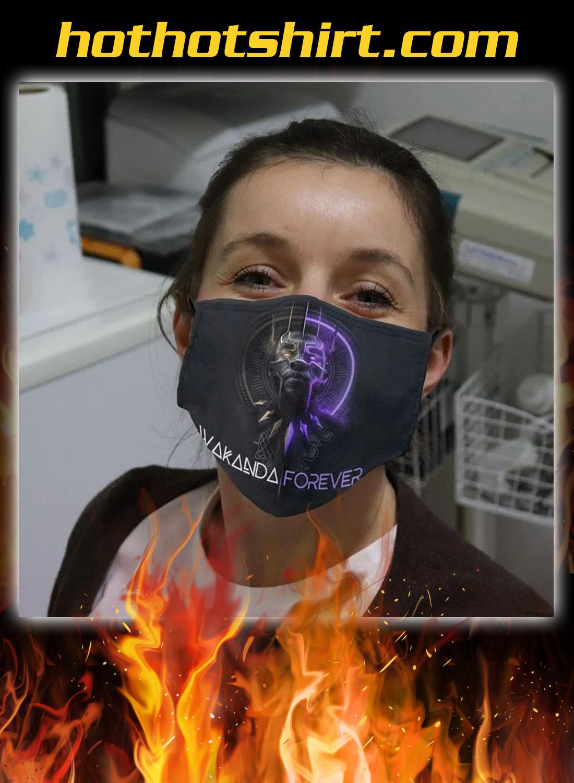 Wakanda forever cloth face mask - Hothot 030920