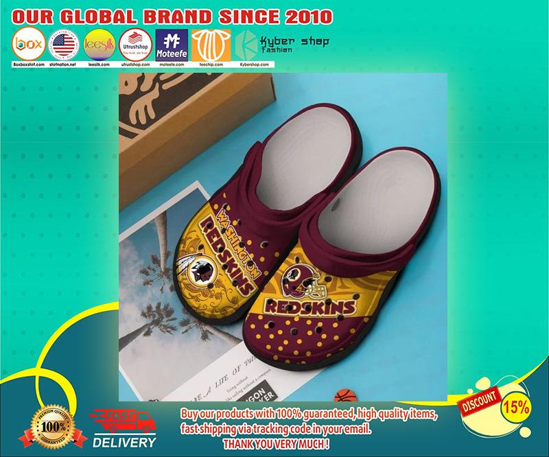 Washington Redskins crocs shoes - LIMITED EDITION