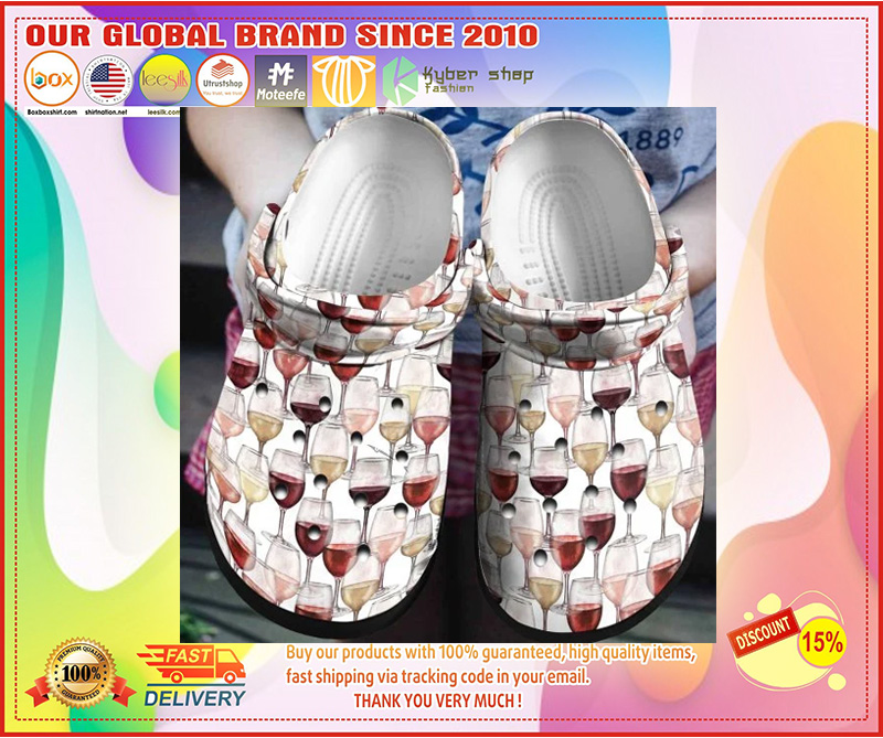 Wine crocband crocs shoes - LIMITED EDITION