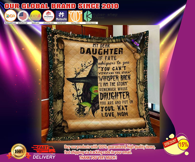 Witch My dear daughter blanket - LIMITED EDITION