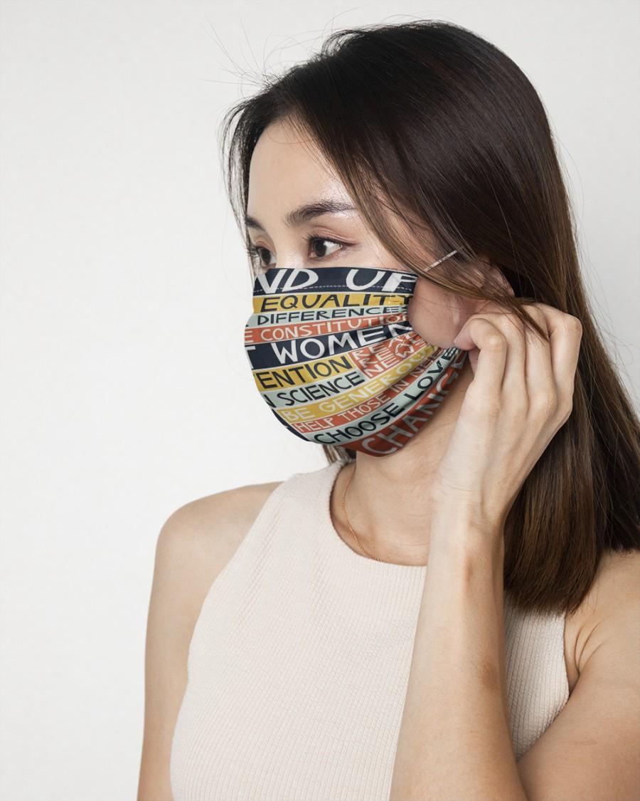 Women speak out face mask 1