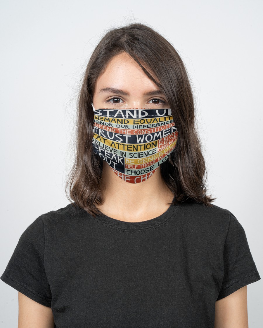 Women speak out face mask - Hothot 150920