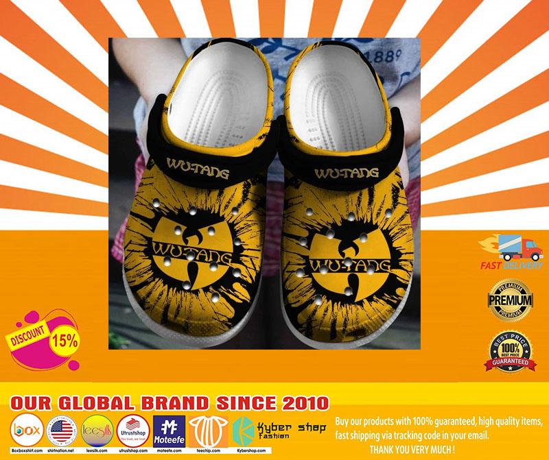 Wu tang clan crocband crocs shoes - LIMITED EDITION