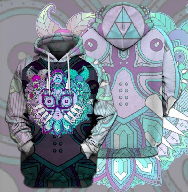 Zelda Link's Mask 3D hoodie
