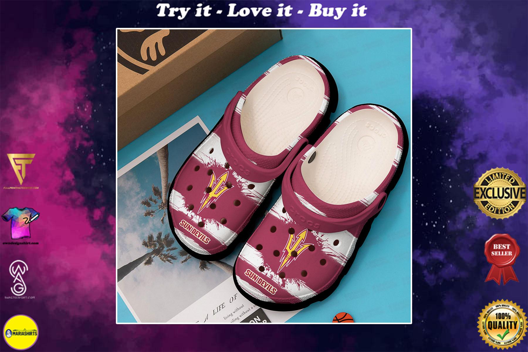 [special edition] arizona state sun devils football crocs shoes - maria