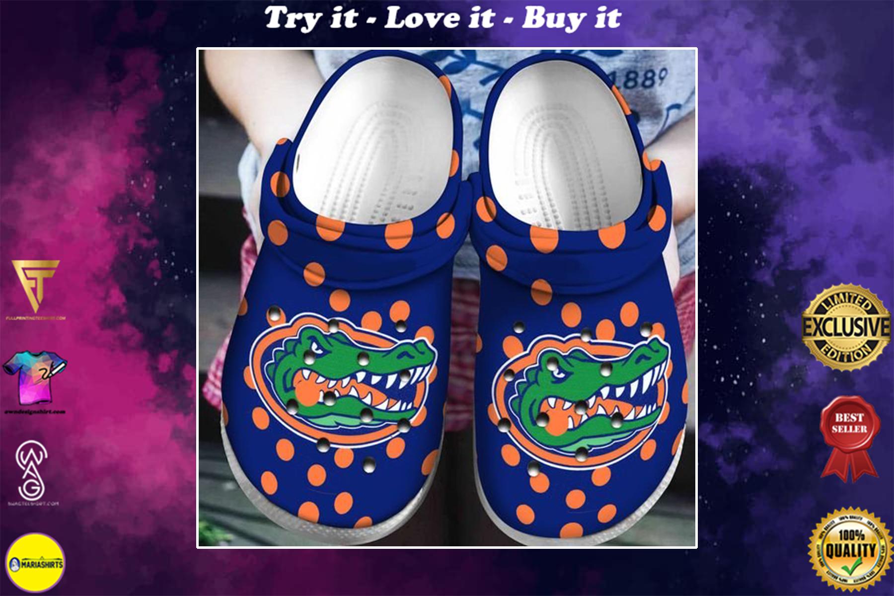 [special edition] crocs american college football florida gators crocs clog - maria