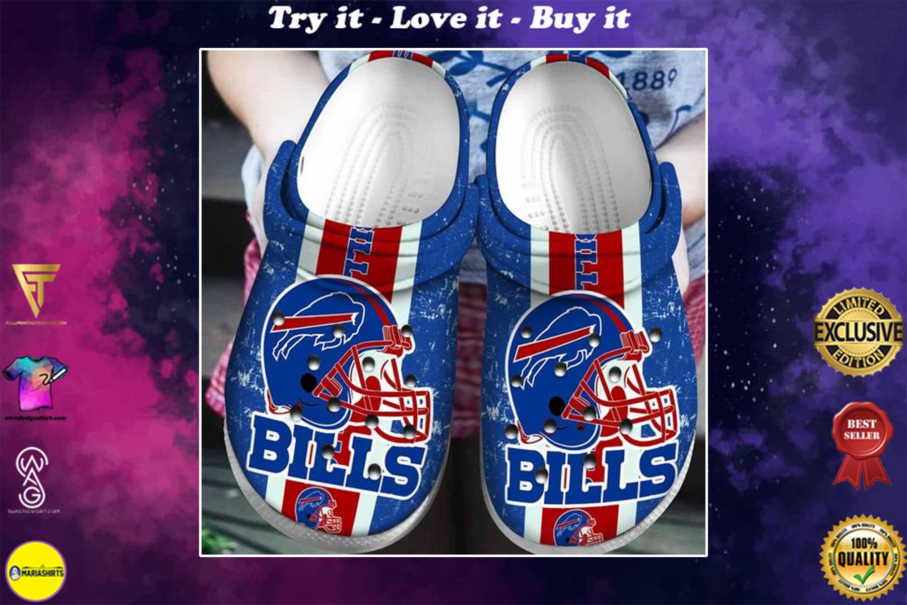 [special edition] crocs buffalo bills football clog - maria