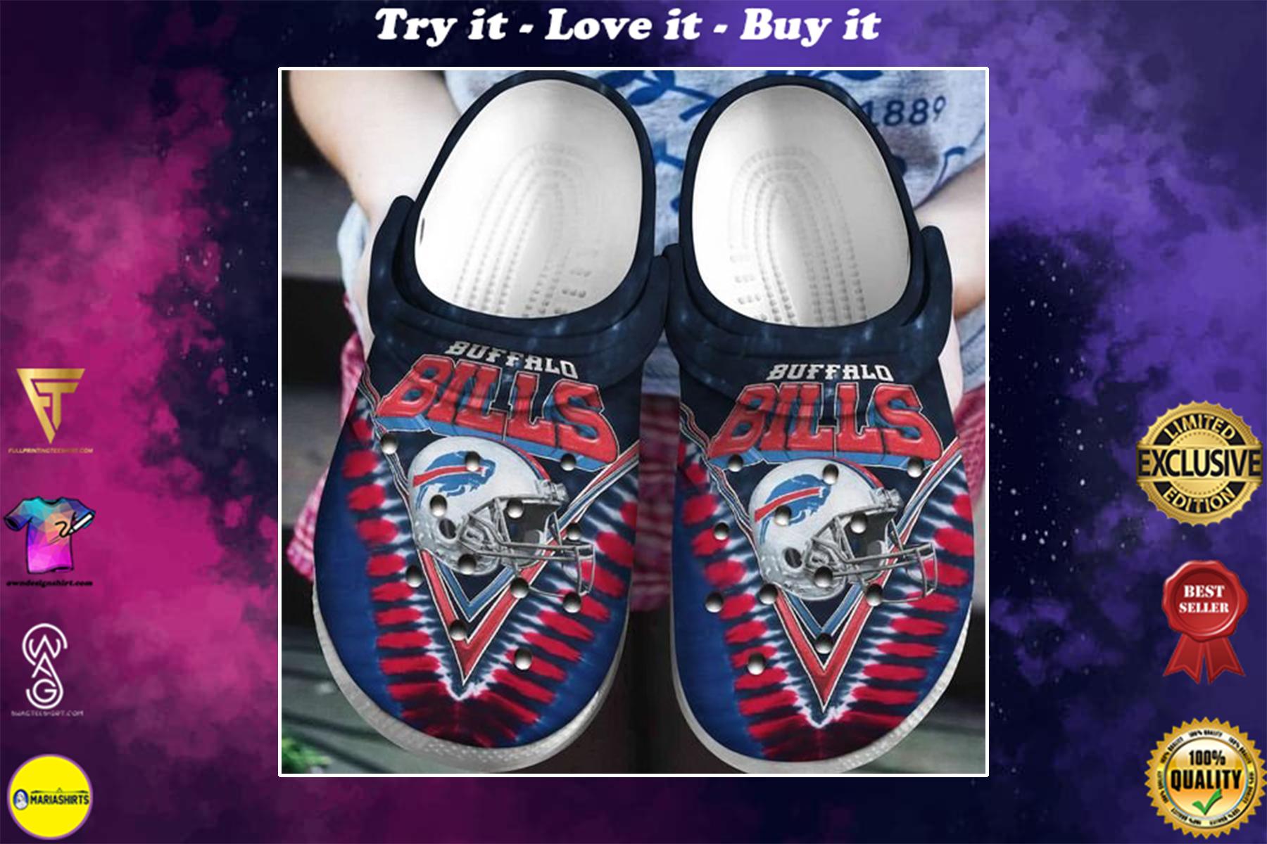 [special edition] crocs buffalo bills helmet clog - maria