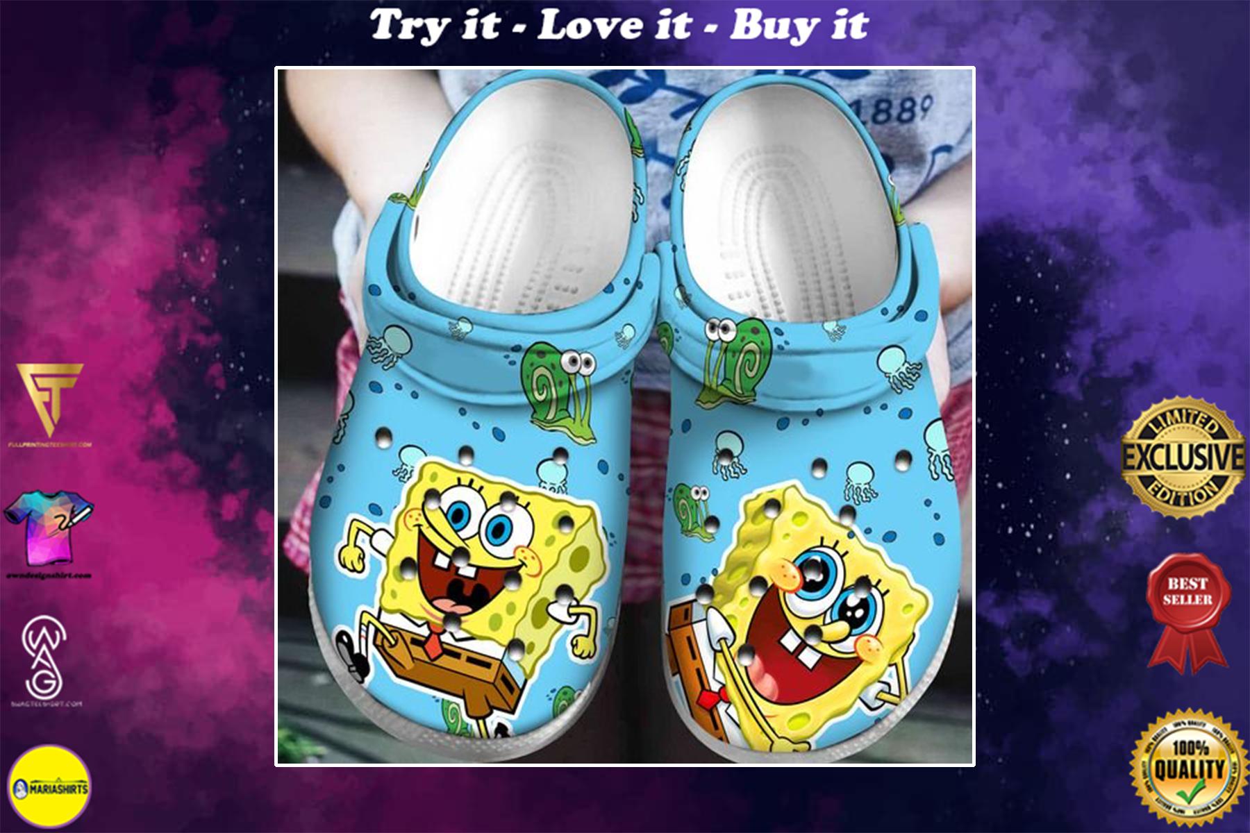 [special edition] crocs spongebob squarepants clog - maria