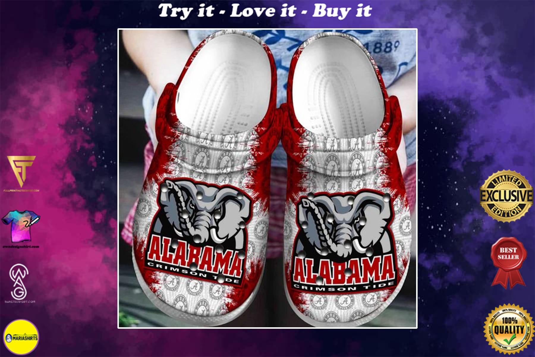 [special edition] crocs the alabama crimson tide football clog - maria