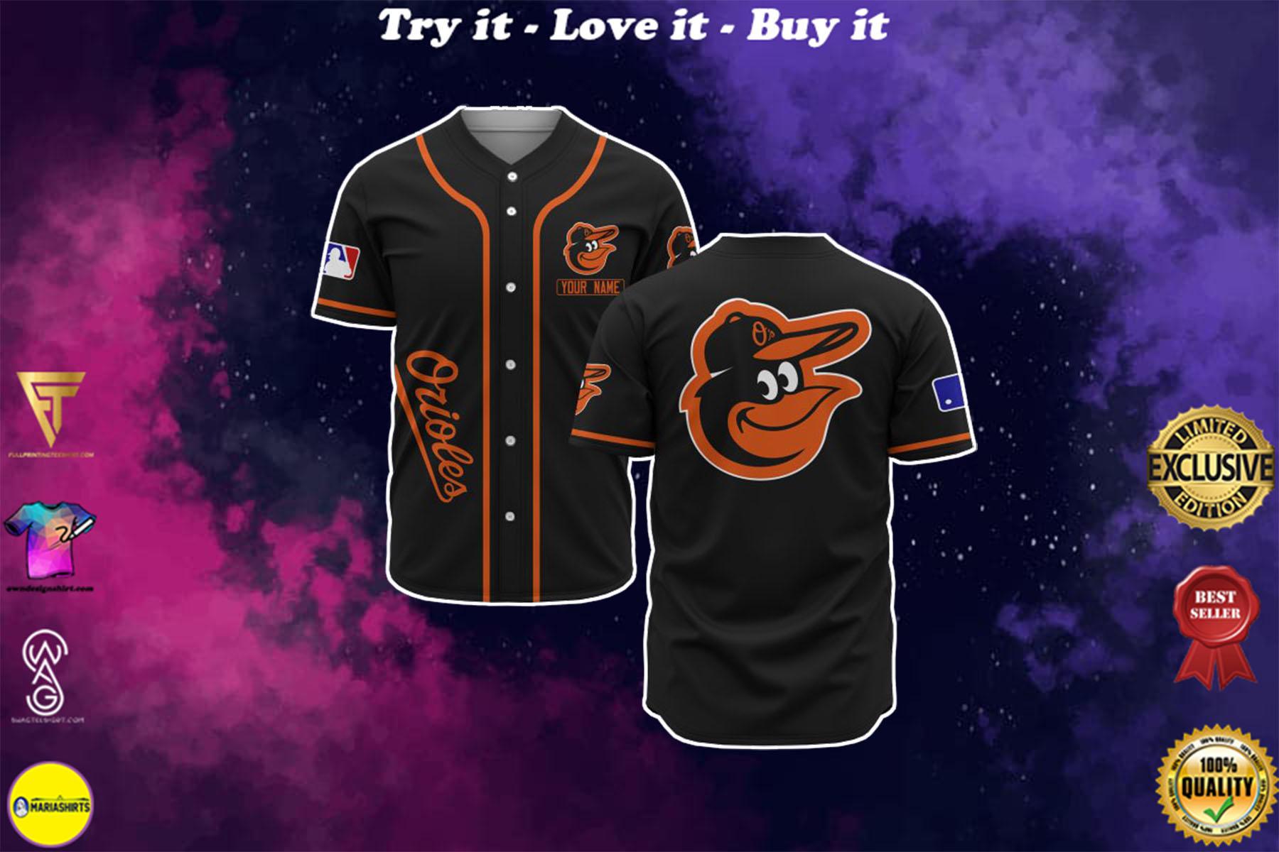 [special edition] custom name baltimore orioles baseball shirt - maria