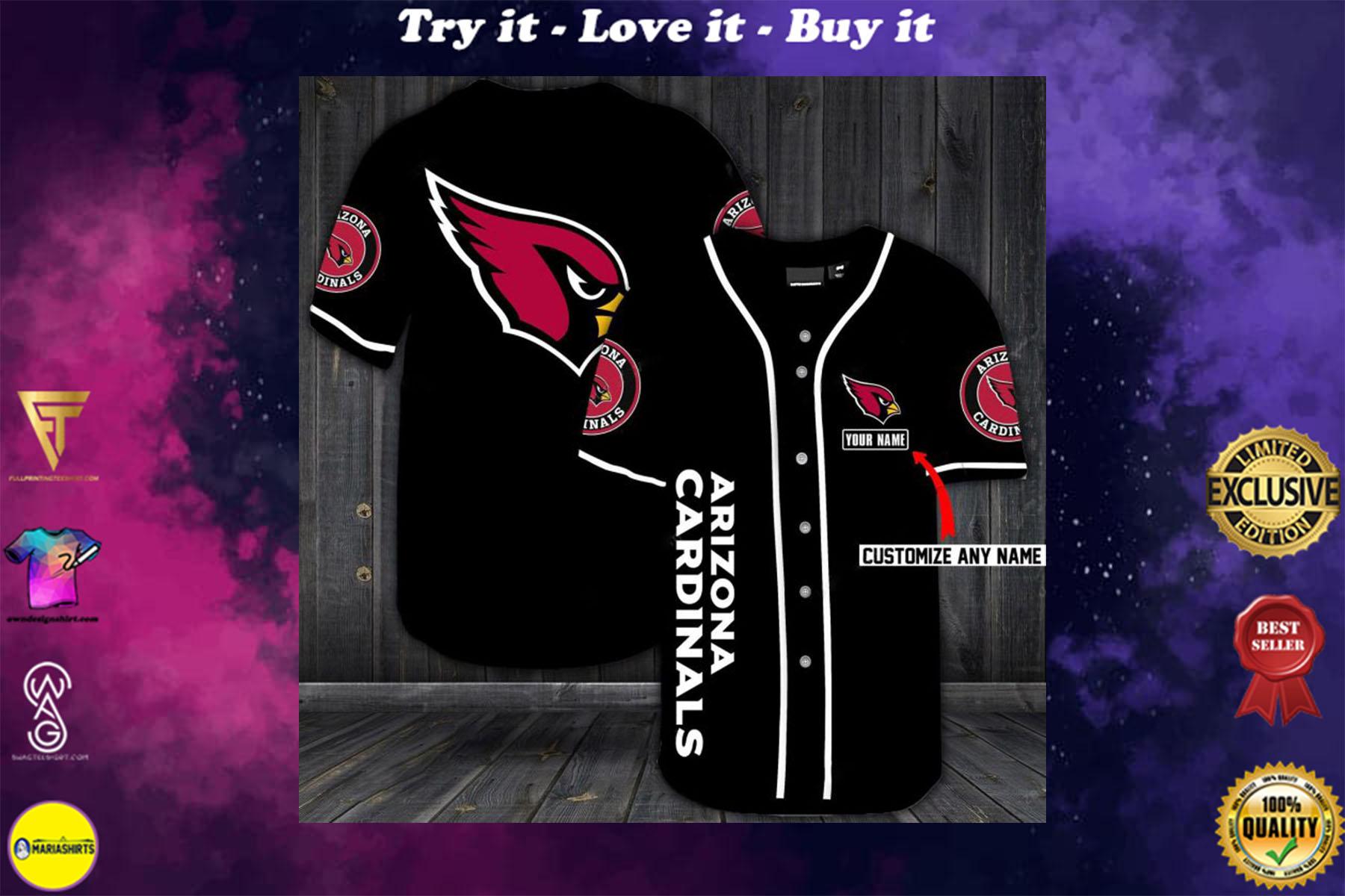 [special edition] custom name jersey arizona cardinals shirt - maria