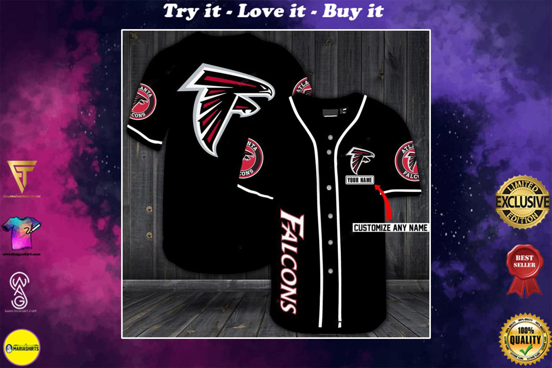 [special edition] custom name jersey atlanta falcons shirt - maria