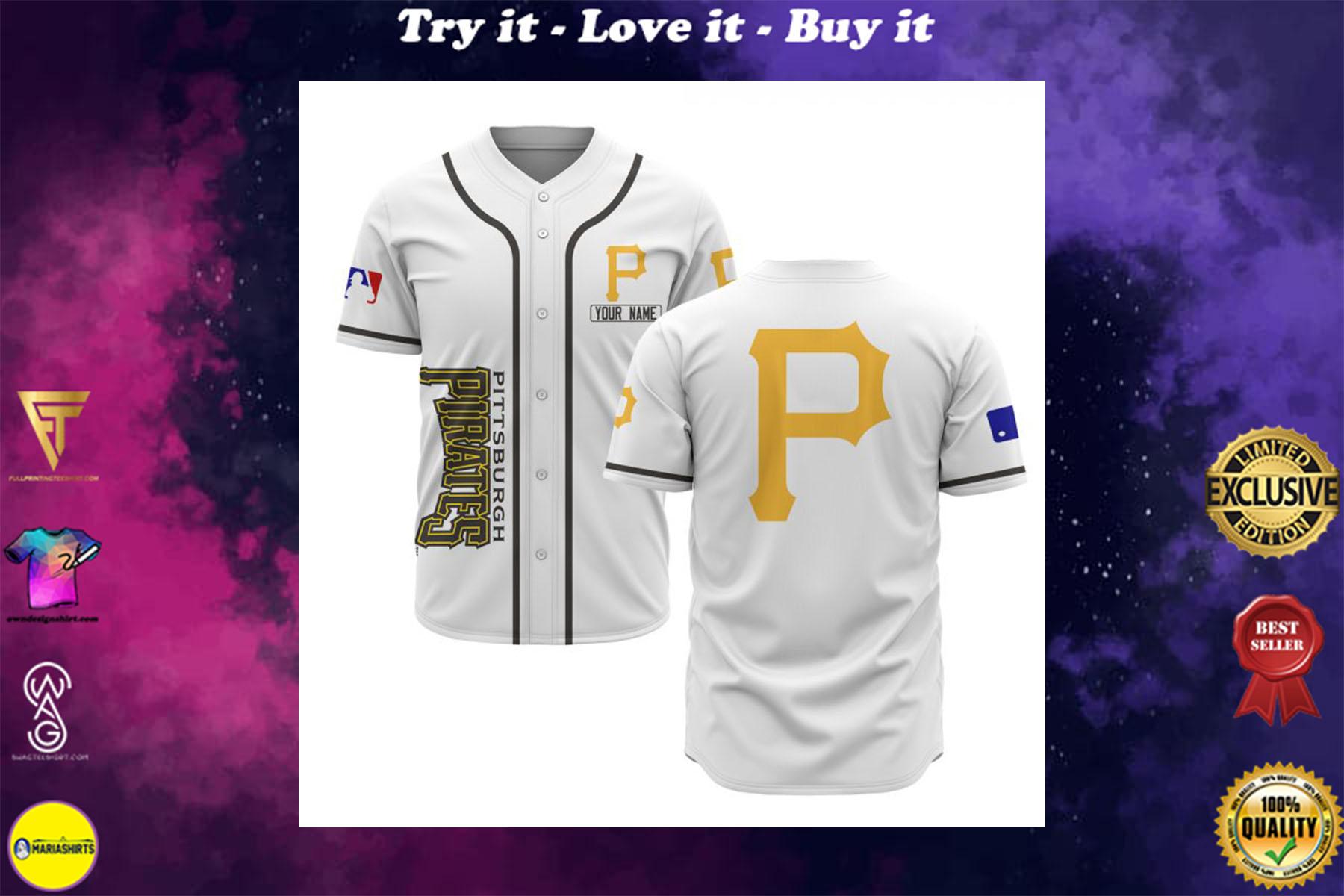 [special edition] custom name pittsburgh pirates baseball shirt - maria