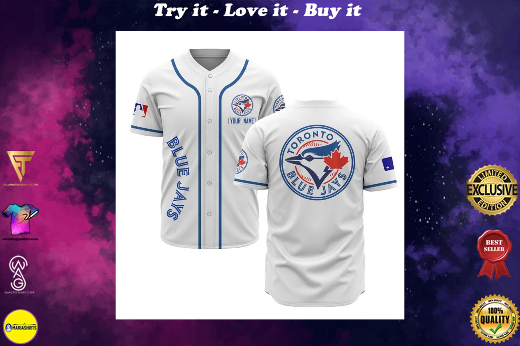 [special edition] custom name toronto blue jays baseball shirt - maria