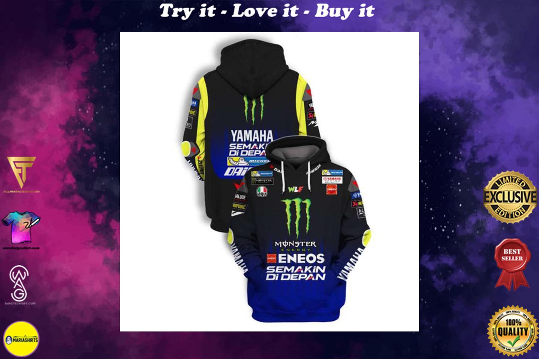 [special edition] monster energy eneos semakin di depan full printing shirt - maria
