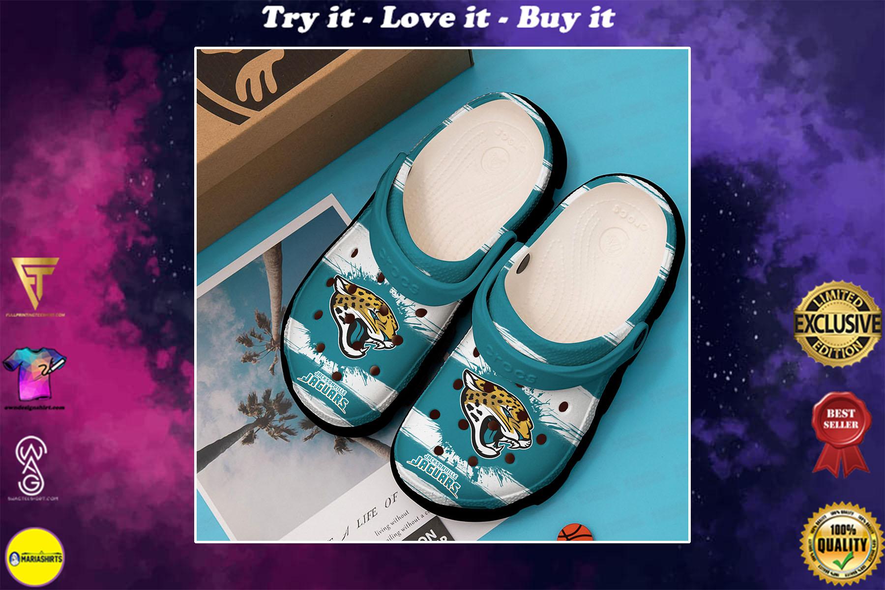 [special edition] national football league jacksonville jaguars crocs shoes - maria