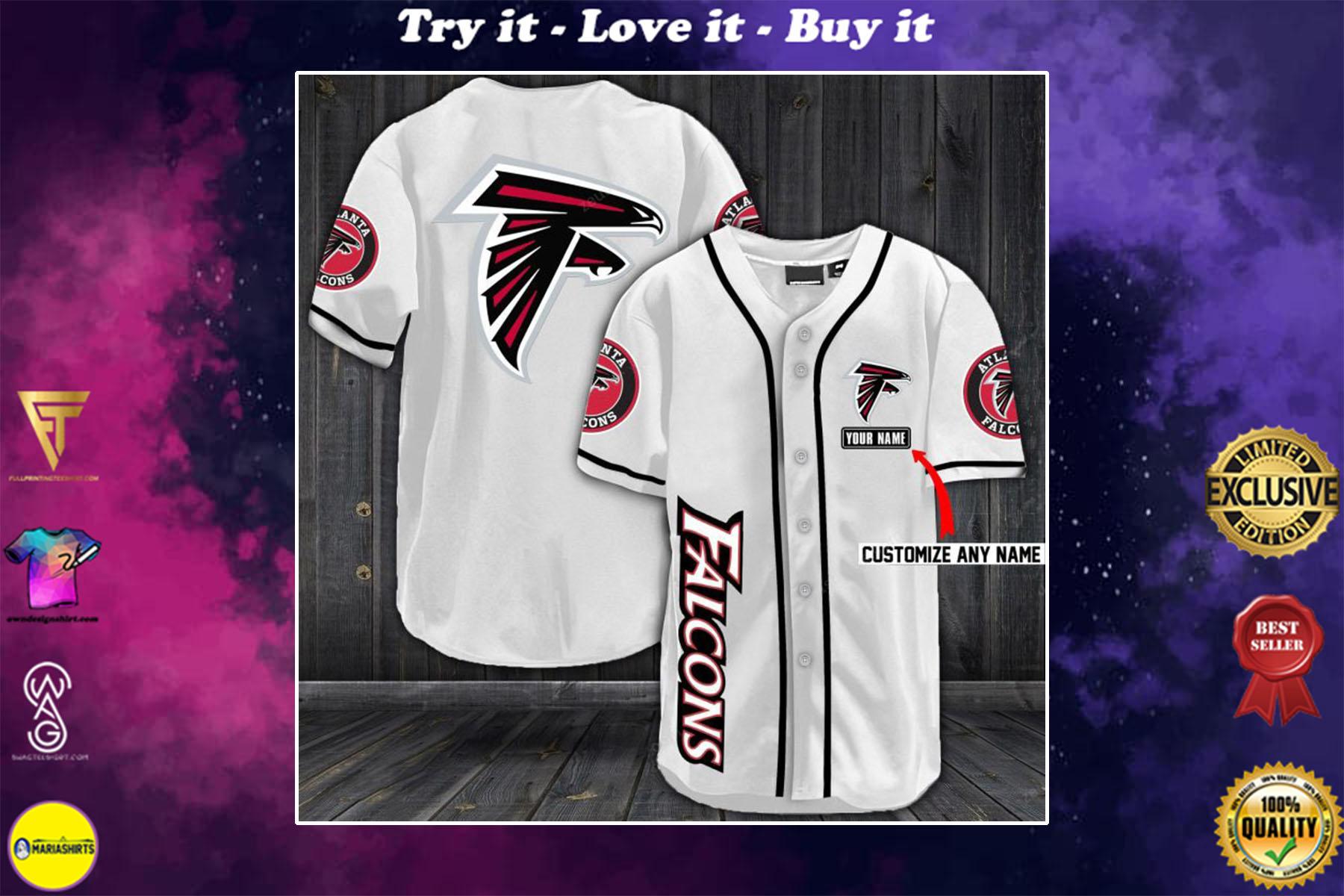 [special edition] personalized name jersey atlanta falcons full printing shirt - maria