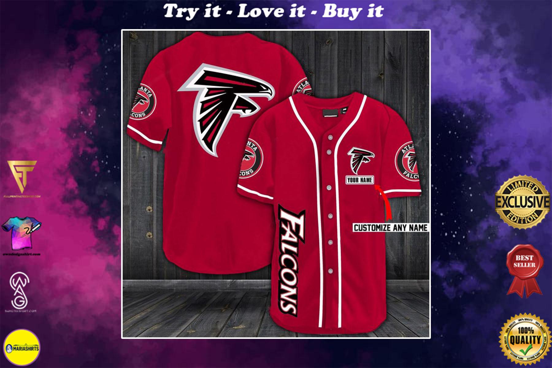 [special edition] personalized name jersey atlanta falcons shirt - maria