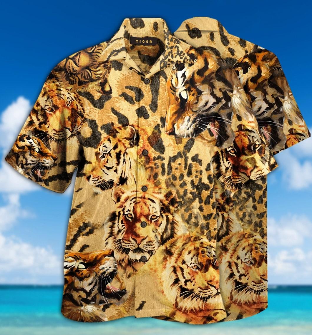 [special edition] stay cool tiger hawaiian shirt - Maria