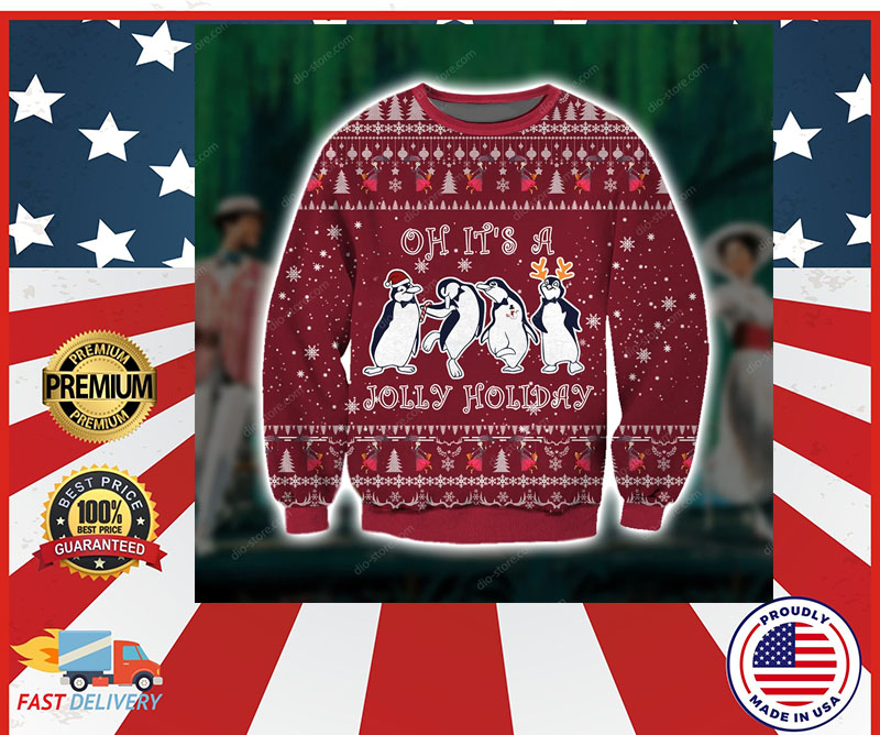 Oh it's a Jolly holiday knitting sweater
