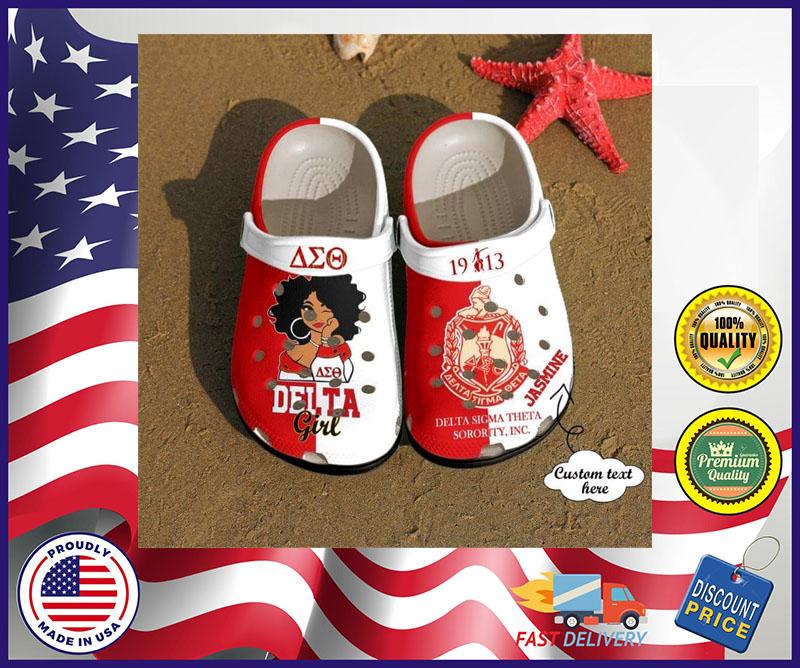 Delta sigma theta crocband croc shoes - LIMITED EDITION
