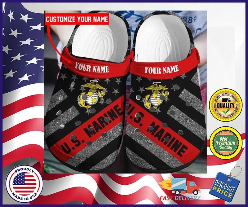 US Marine crocband croc shoes