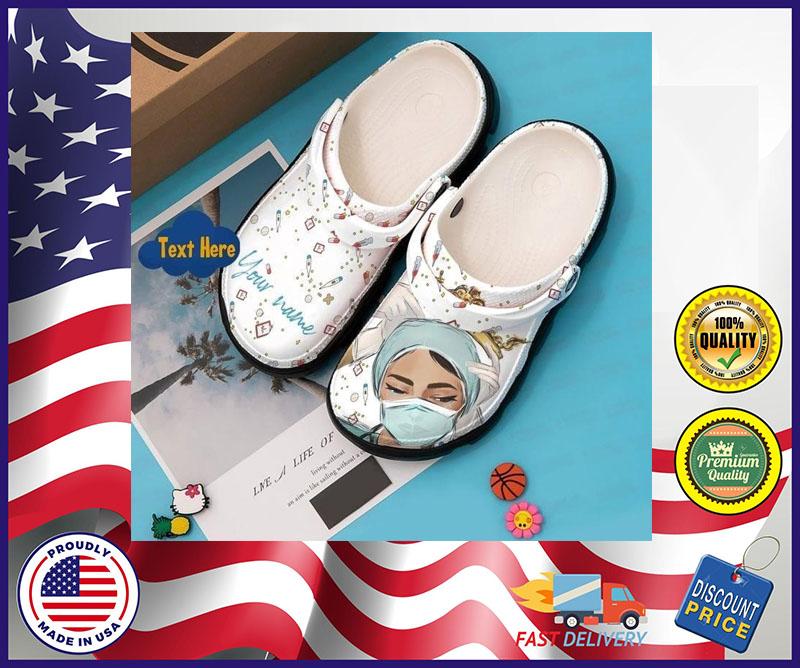 Nurse crocband croc shoes