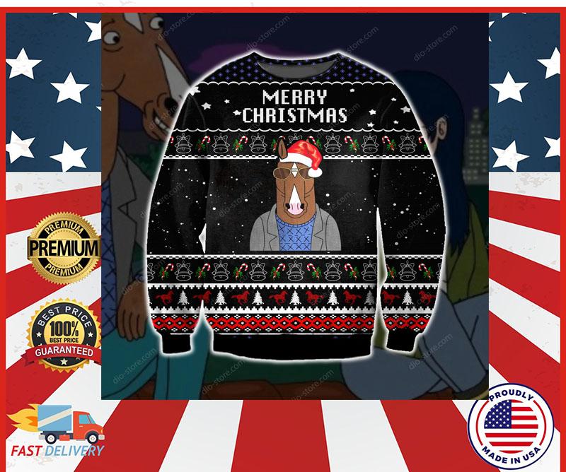 Bojack Horseman merry christmas sweater