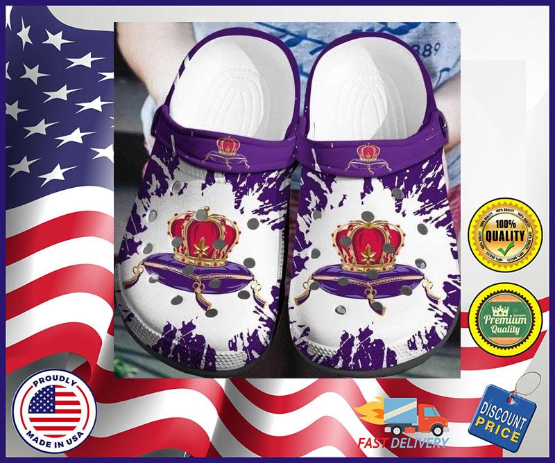 Crown Royal crocband crocs shoes