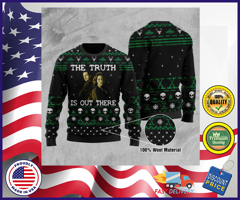 The truth is out there sweater