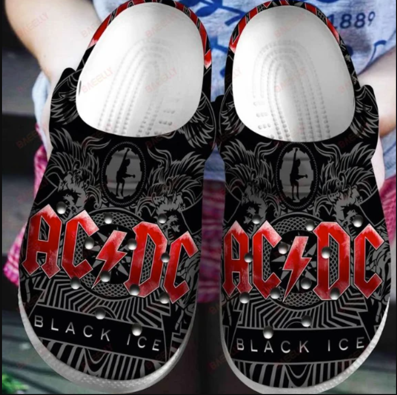 ACDC crocs crocband