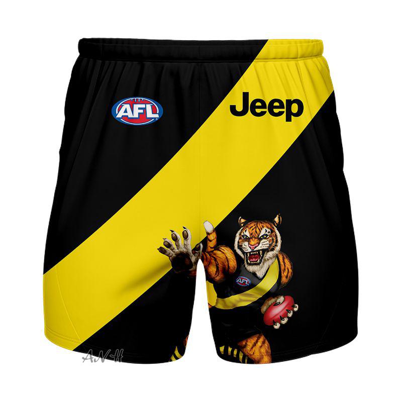 AFL Richmond 3d shorts