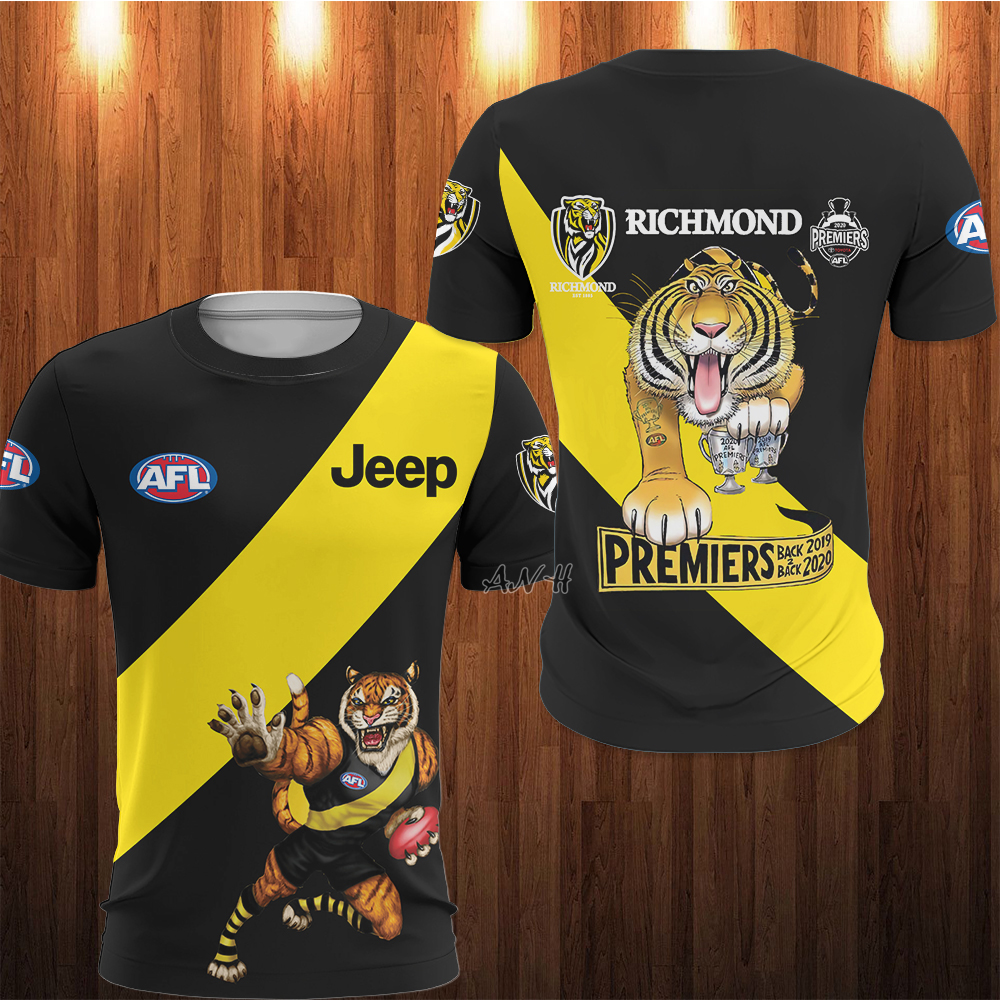 AFL Richmond 3d t-shirt