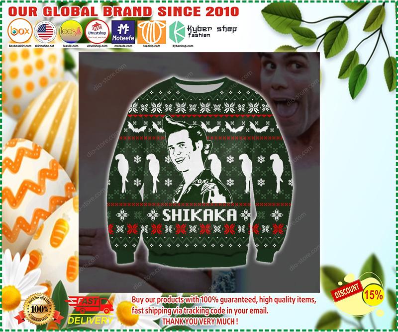 Ace ventura Shikaka ugly christmas sweater - LIMITED EDITION BBS