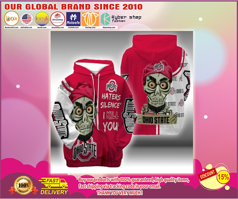 Achmed Ohio State Buckeyes 3d hoodie - LIMITED EDITION BBS