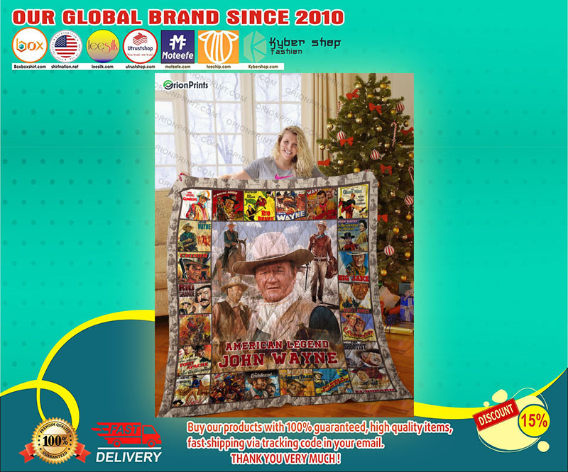 American John Wayne Quilt - LIMITED EDITION