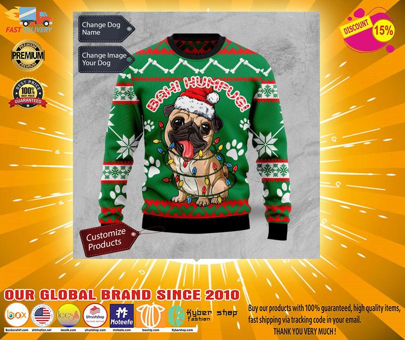 Bah humpug ugly Christmas sweater - LIMITED EDITION