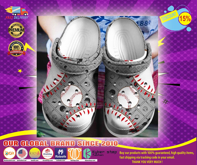 Baseball crocs shoes crocband - LIMITED EDITION