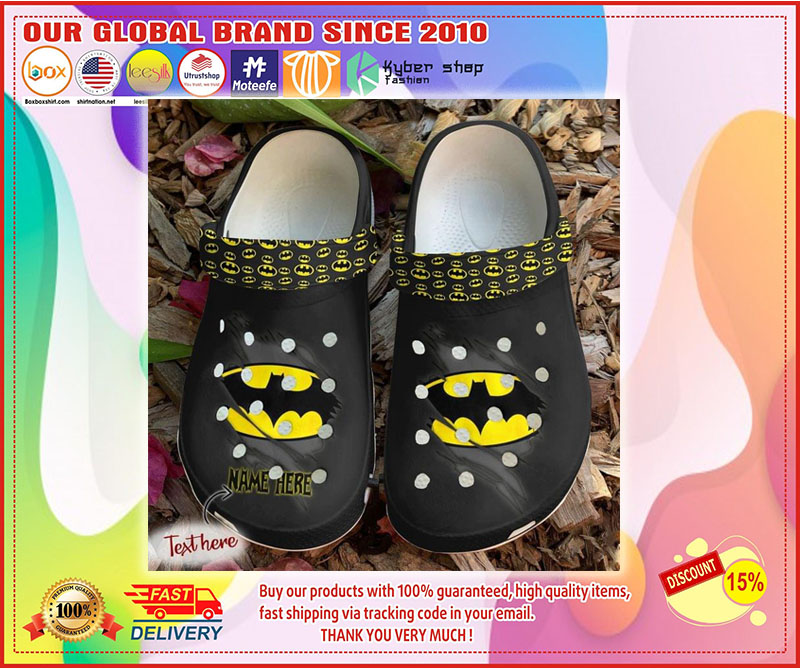Batman crocs shoes crocband - LIMITED EDITION