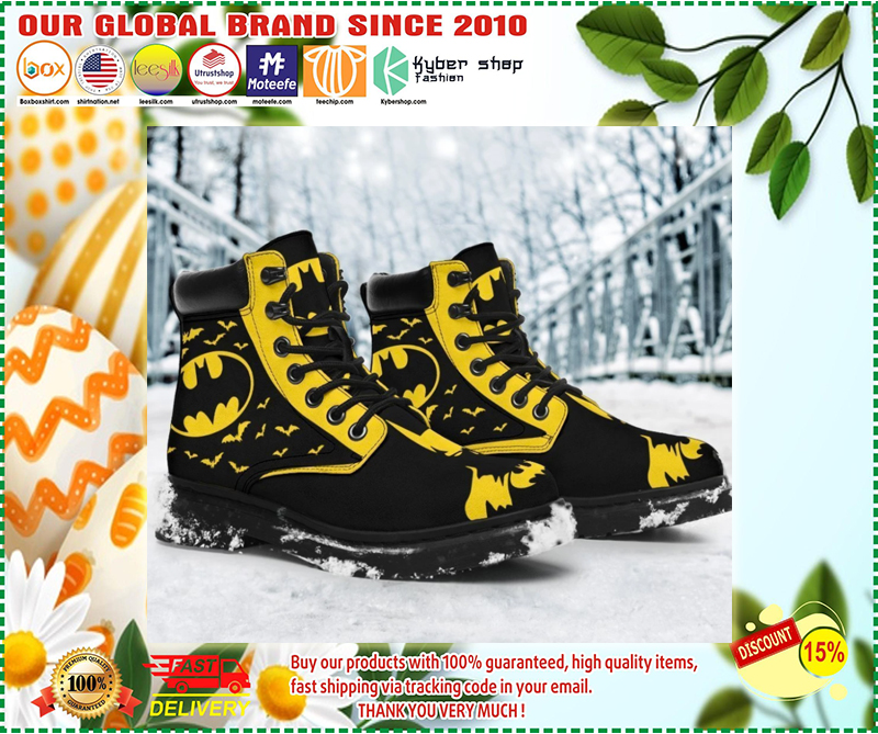 Batman timberland boots - LIMITED EDITION BBS