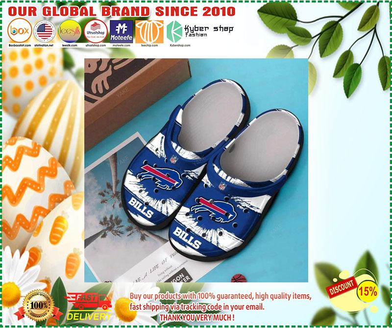 Buffalo Bills croc shoes crocband - LIMITED EDITION