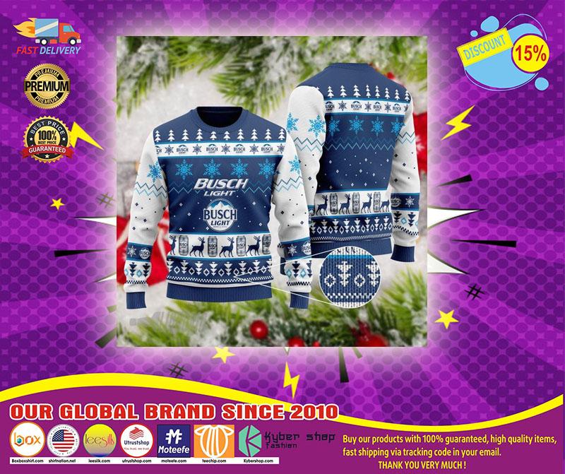 Bush light ugly Christmas sweater - LIMITED EDITION