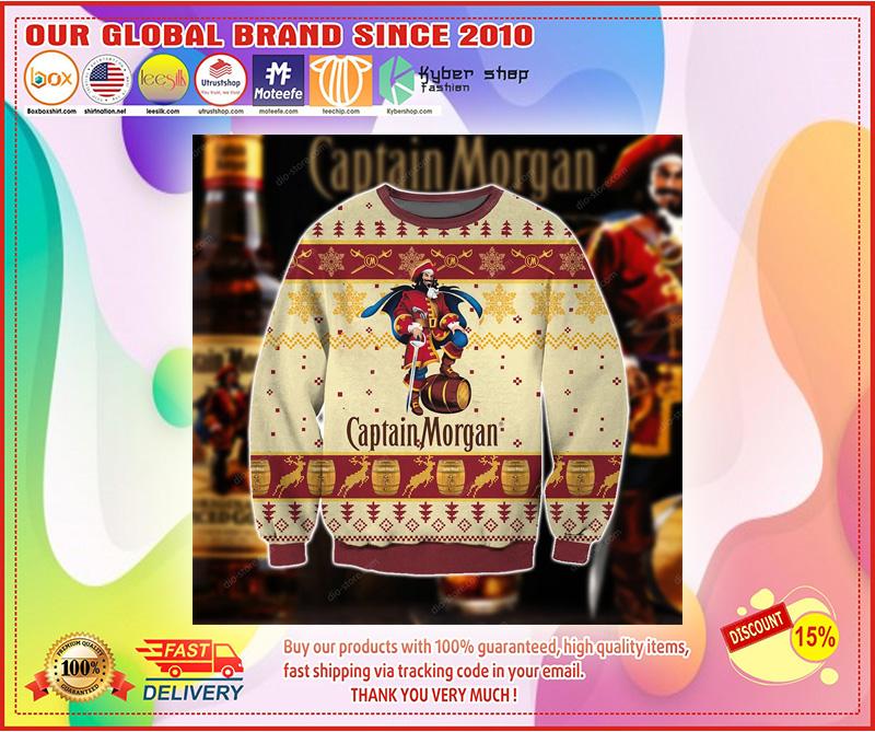 Captain morgan Christmas sweater
