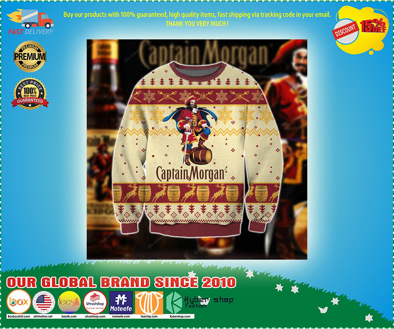 Captain morgan Christmas sweater - LIMITED EDTION