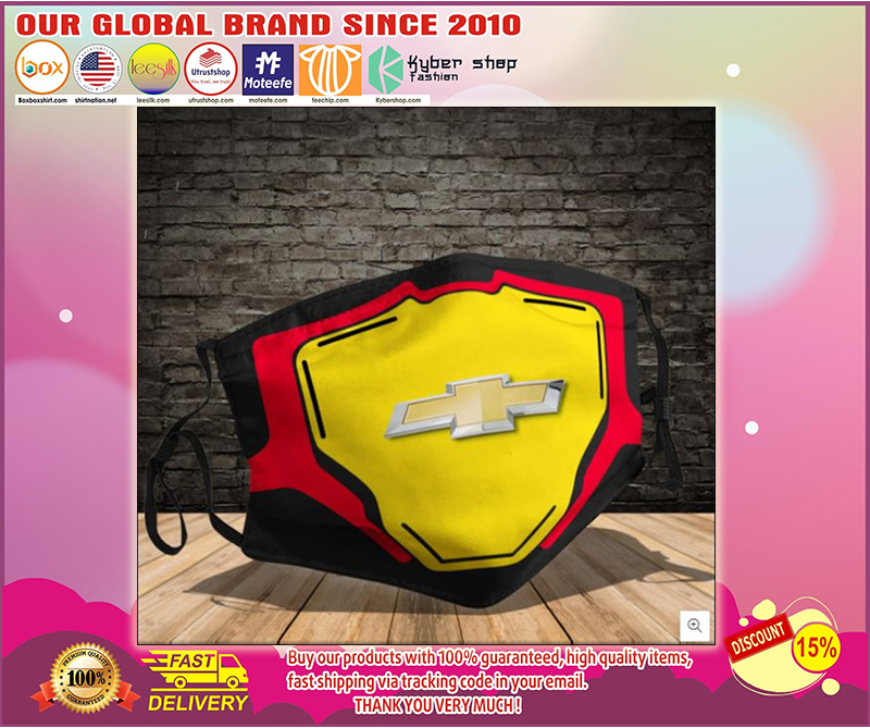 Chevrolet logo face mask - LIMITED EDITION BBS
