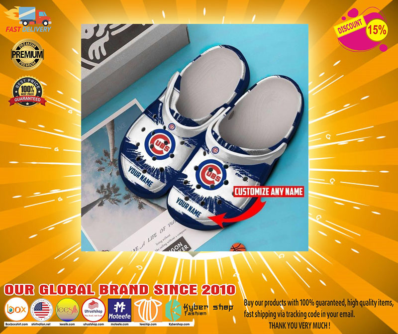 Chicago Cubs crocband croc shoes - LIMITED EDITION