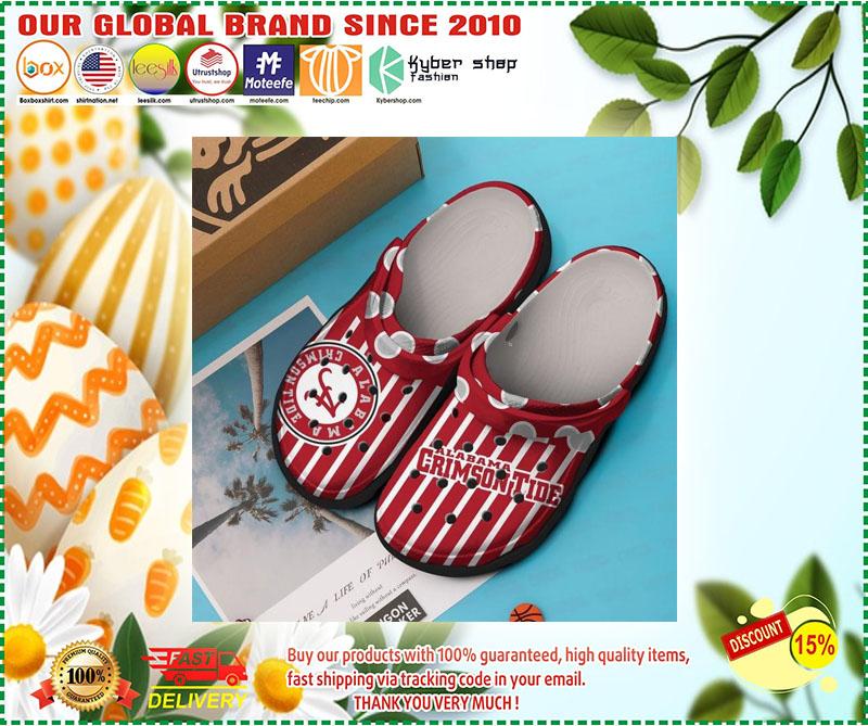 Crimson tide alabama croc shoes crocband - LIMITED EDITION