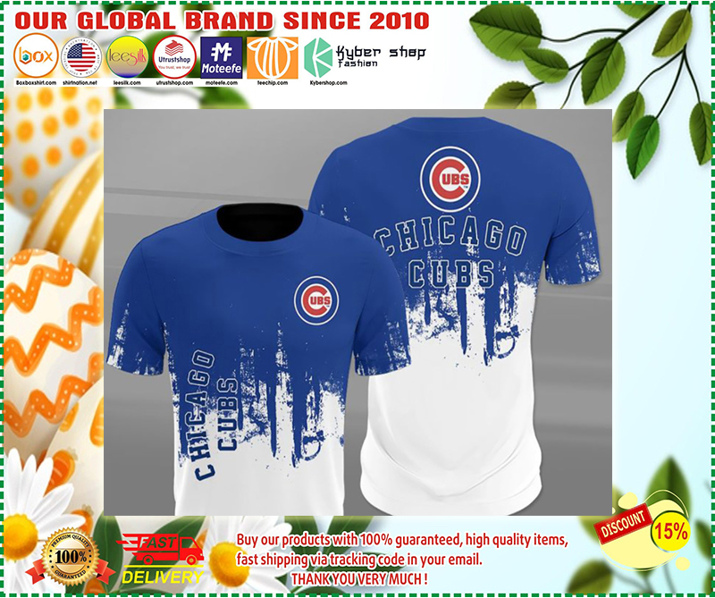 Cubs full printing shirt - LIMITED EDITION BBS